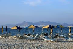 Tigaki beach. Royalty Free Stock Photography