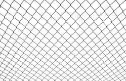 tige à chaînes de frontière de sécurité Images libres de droits