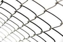 tige à chaînes de frontière de sécurité Images stock