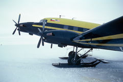 Tige chaude DC-3 Photos libres de droits