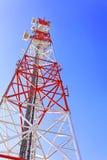 Tige de relais radioélectrique, station de base mobile. Photographie stock libre de droits