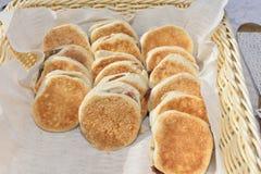 Tigelle Sweet pastries wedding reception Stock Image