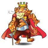 tiger国王 免版税图库摄影