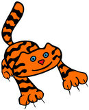 The Tiger. Vector illustration of The Tiger Royalty Free Stock Photo