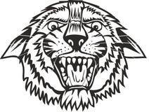 Tiger. Vector illustration head tiger eps 8 Royalty Free Stock Image