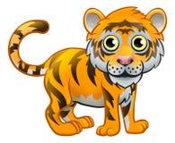 Tiger Animal Cartoon Character Royalty Free Stock Photos