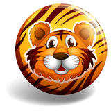 Tiger badge Royalty Free Stock Images