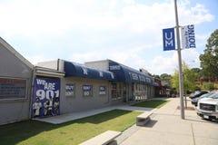 Tiger Bookstore en el Universtiy de Memphis Fotografía de archivo