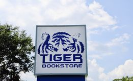 Tiger Bookstore Memphis University Fotografie Stock