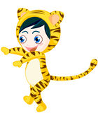 Tiger boy Royalty Free Stock Photography
