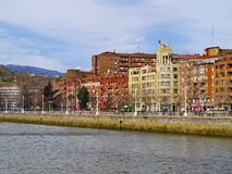 Tiger Building in Bilbao Stock Photography