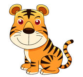 Tiger cartoon Stock Photography