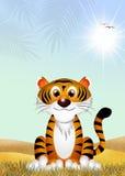 Tiger cartoon Royalty Free Stock Photo