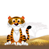 Tiger cartoon Stock Image