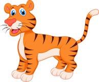 Tiger cartoon. Illustration of Tiger cartoon character Royalty Free Stock Photography