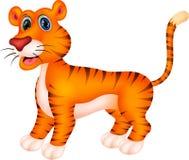 Tiger cartoon. Illustration of Cute Tiger cartoon Stock Images