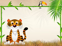Tiger cartoon Royalty Free Stock Images