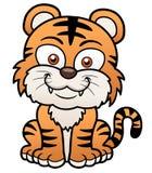 Tiger cartoon. Vector illustration of Tiger cartoon Stock Images