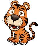 Tiger cartoon. Vector illustration of Tiger cartoon Stock Photos