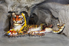 Tiger Cave Royalty Free Stock Photo
