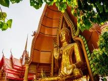 Tiger cave temple, Kanchanaburi. Big buddha at Tiger cave temple of Kanchanaburi, Thailand royalty free stock photo