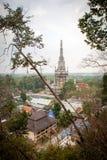 Tiger Cave Temple in Krabi lizenzfreie stockfotografie