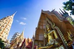 Tiger Cave Temple Wat Tham Sua dans Kanchanaburi, populaire avec des touristes et des étrangers photos libres de droits