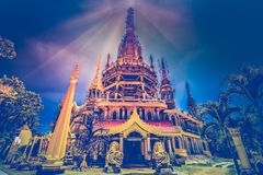 Tiger Cave Temple Wat Tham Sua. Thailand, Krabi Royalty Free Stock Images