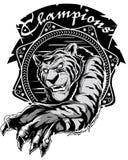 Tiger champions Royalty Free Stock Image
