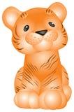 Tiger Cub Vektor Abbildung