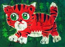 Tiger cub vector illustration