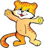 Tiger cub. Royalty Free Stock Photo