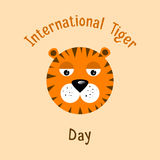 Tiger Day international Image stock