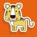 Tiger design Royalty Free Stock Image