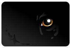 Tiger_eye Imagenes de archivo