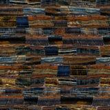Tiger Eye Blue Imágenes de archivo libres de regalías
