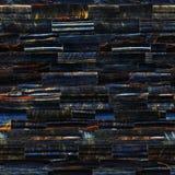 Tiger Eye Blue Imagen de archivo libre de regalías