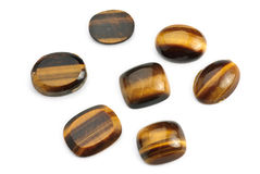 Tiger eye Jewel Royalty Free Stock Photo