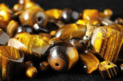 Tiger Eye Stones Royalty Free Stock Photography