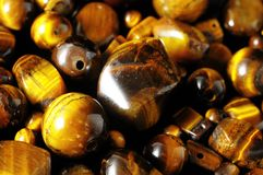 Tiger Eye Stones Stock Photos