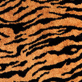 Tiger fabric textile texture to background Stock Photo