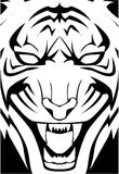 Tiger face. Illustrator design .eps 10 Royalty Free Illustration