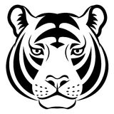 Tiger face symbol Stock Photos