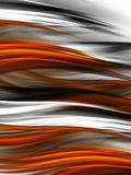 Tiger fur background. Abstract tiger fur background with blurred stripes Stock Photos