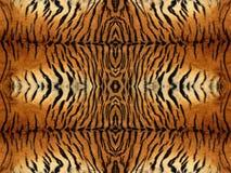 Tiger Fur Pattern. Black and orange tiger fur pattern Royalty Free Stock Photography