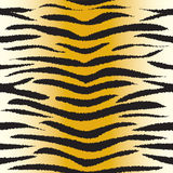 Tiger fur seamless pattern Stock Images