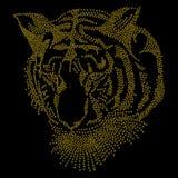 Tiger Glitter Royalty Free Stock Photos
