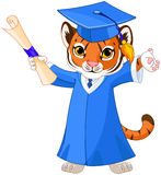 Tiger Graduates stock illustratie