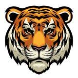 Tiger Head illustration de vecteur