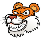 Tiger Head. Vector illustration of Tiger Head Royalty Free Stock Image